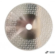 Double side electroplate blade