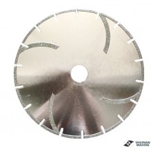 Electroplate blade 2