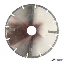 Electroplated blade 1