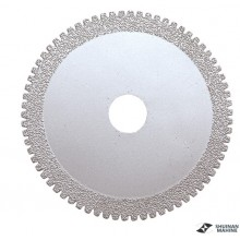 Vacumm brazed cutting blade with tooth