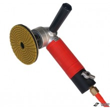 Air operated polisher
