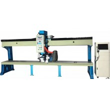 Imitated edge grinding and punching machine