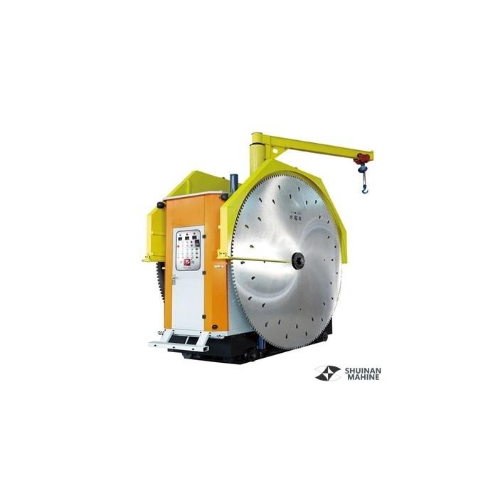 Double-blade mining machine